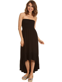 SALE! $36.99 - Save $81 on Karen Kane Bandeau Hi Lo Maxi Dress (Black) Apparel - 68.65% OFF $118.00