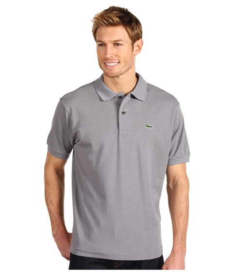 Lacoste - L1212 Classic Pique Polo Shirt (Platinum) Men's Short Sleeve Knit