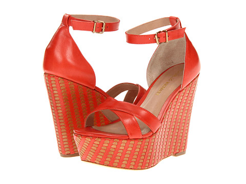 Pour La Victoire Bonita (Red Multi Vegetal) Women's Wedge Shoes
