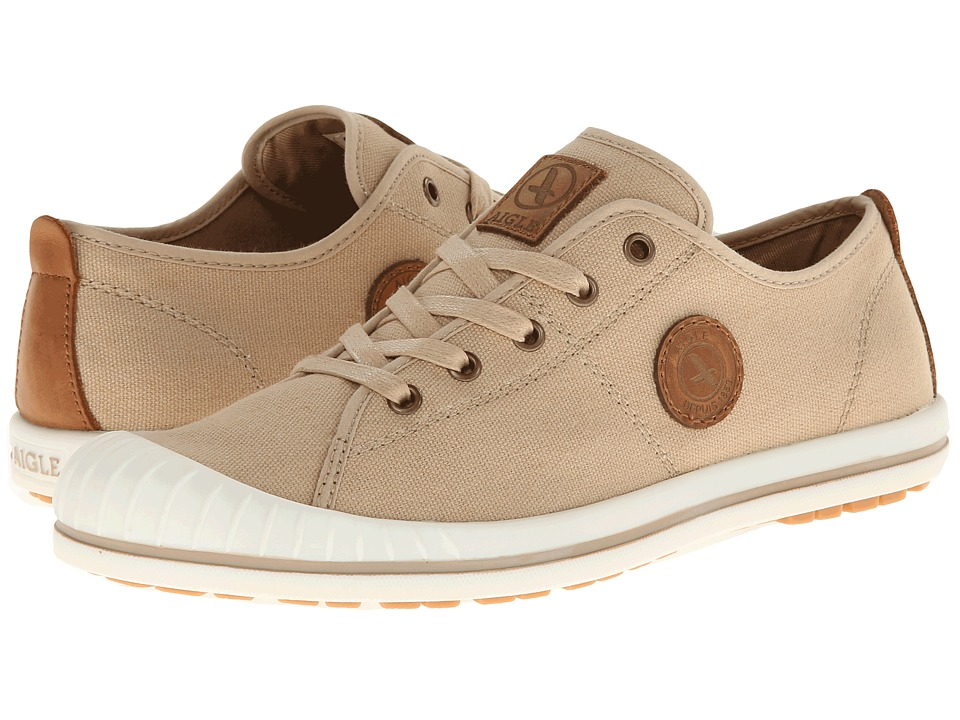 Image of AIGLE - Kitangiri W (Sand) Women's Lace up casual Shoes