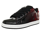DC - Court Graffik SE (Black/Red Print) - Footwear