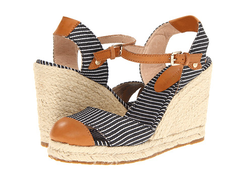 Tommy Bahama - Rodeo (Black/White RR Stripe) Women's Wedge Shoes