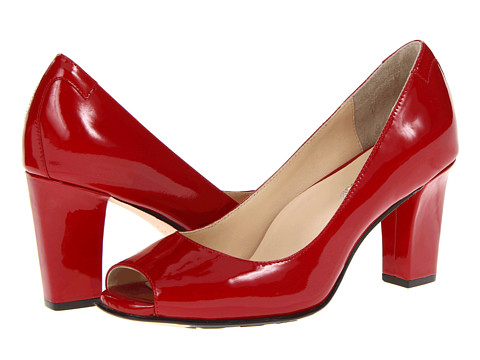 Taryn Rose - Fierce (Red Patent Leather) High Heels