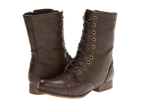Madden Girl - Gamer (Brown Paris) Women's Zip Boots