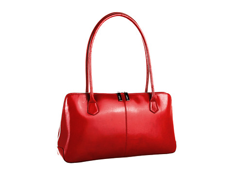 Hobo - Paulina (Red Venice Leather) Shoulder Handbags
