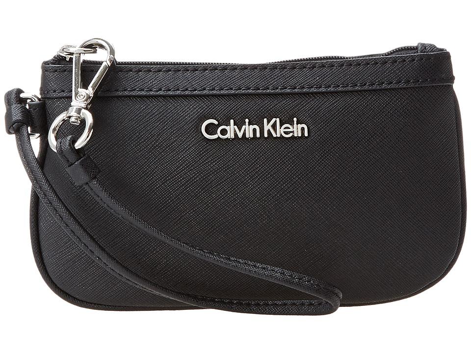 Calvin Klein - Wristlet (Black) Wristlet Handbags