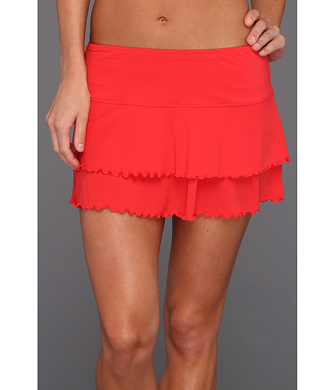 Body Glove - Smoothies Lambada Skirt (Scarlet Red) Women