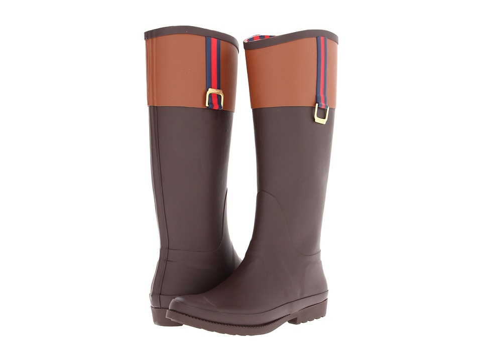Tommy Hilfiger - Viktoria (Dark Brown) Women's Rain Boots