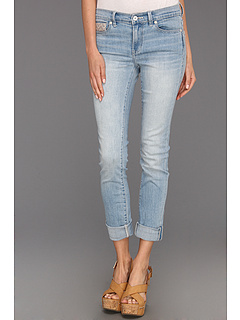 SALE! $47.99 - Save $42 on Calvin Klein Jeans Ultimate Skinny Ankle Roll w Embroidery in Light Wash (Light Wash) Apparel - 46.38% OFF $89.50