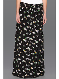 SALE! $31.99 - Save $23 on Volcom Peach Pit Maxi Skirt (Black) Apparel - 41.84% OFF $55.00