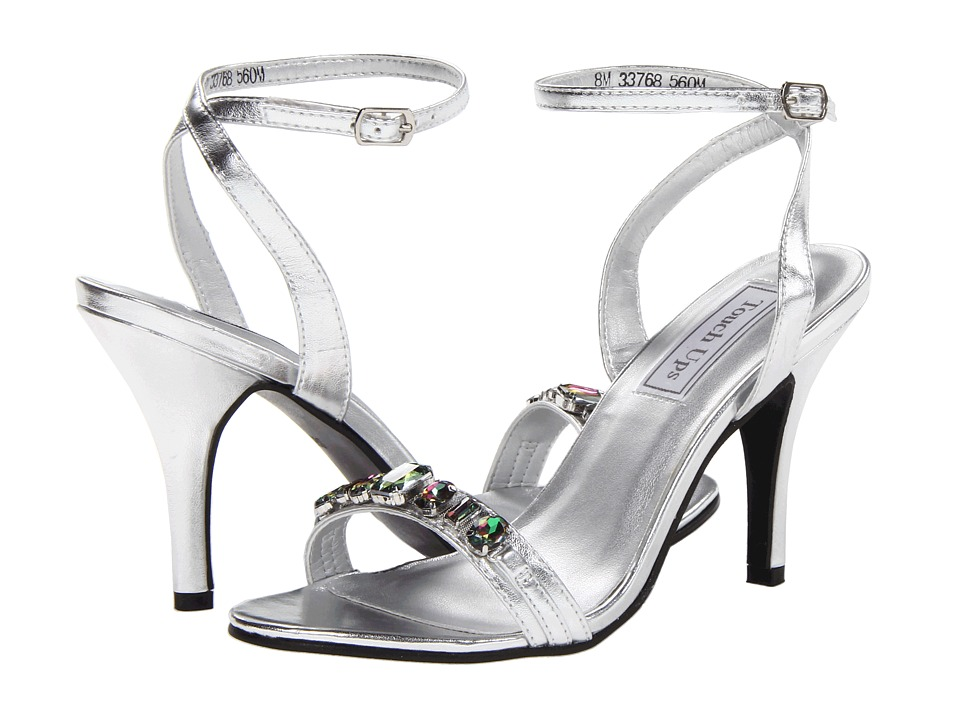 Touch Ups - Louise (Silver Metallic) Women's Dress Sandals