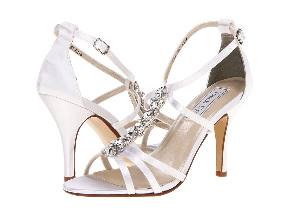 Touch Ups - Vanessa (White Satin) Women's Shoes