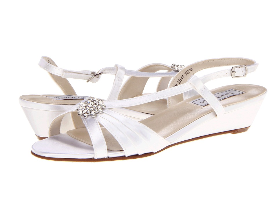 Touch Ups Geri (White Satin) Women