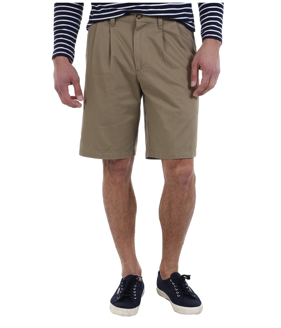 Dockers Men's - D3 Classic Fit Double Pleat Short (New British Khaki) Men's Shorts