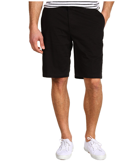 Dockers Men's - Core Flat Front Short (Black) Men's Shorts