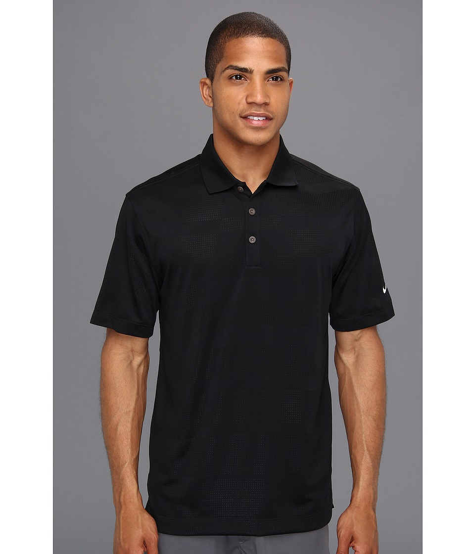 Nike Golf - Core Body Mapping Polo (Black/White) Men