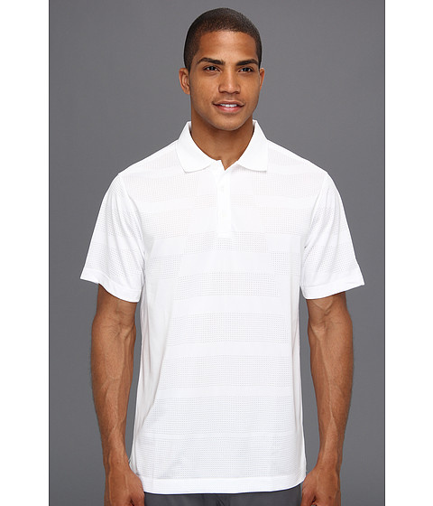 Nike Golf - Core Body Mapping Polo (White/Stadium Grey) Men