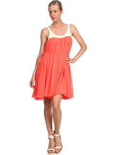 SALE! $524.99 - Save $640 on McQ Cropped Waterfall Dress (Neon Orange) Apparel - 54.94% OFF $1165.00