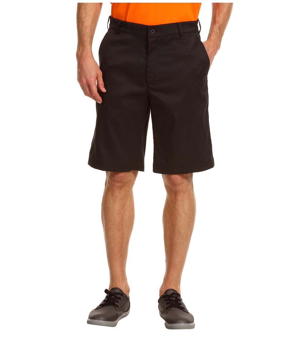 Nike Golf - Flat Front Tech Short (Black/Black) Men's Shorts