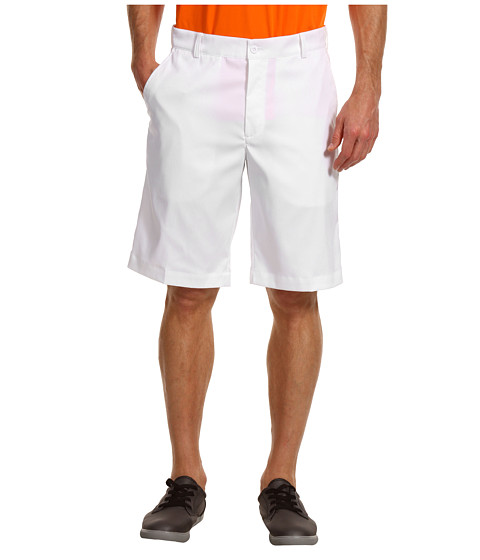 Nike Golf - Flat Front Tech Short (White/White) Men