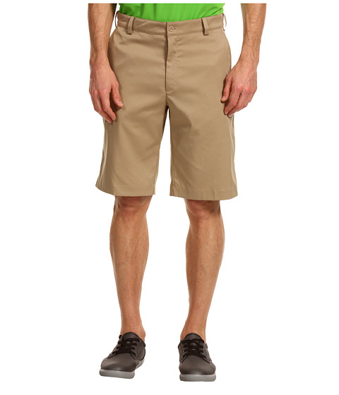 Nike Golf - Flat Front Tech Short (Khaki/Khaki) Men