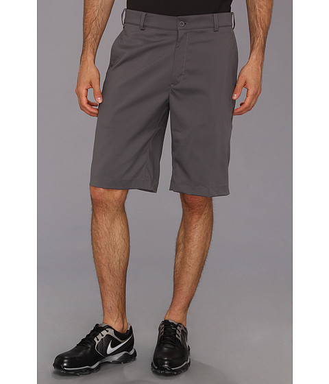 Nike Golf - Flat Front Tech Short (Dark Grey/Dark Grey) Men