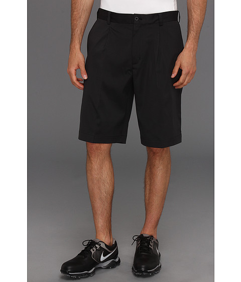 Nike Golf - Tour Pleat Short (Black/Black) Men