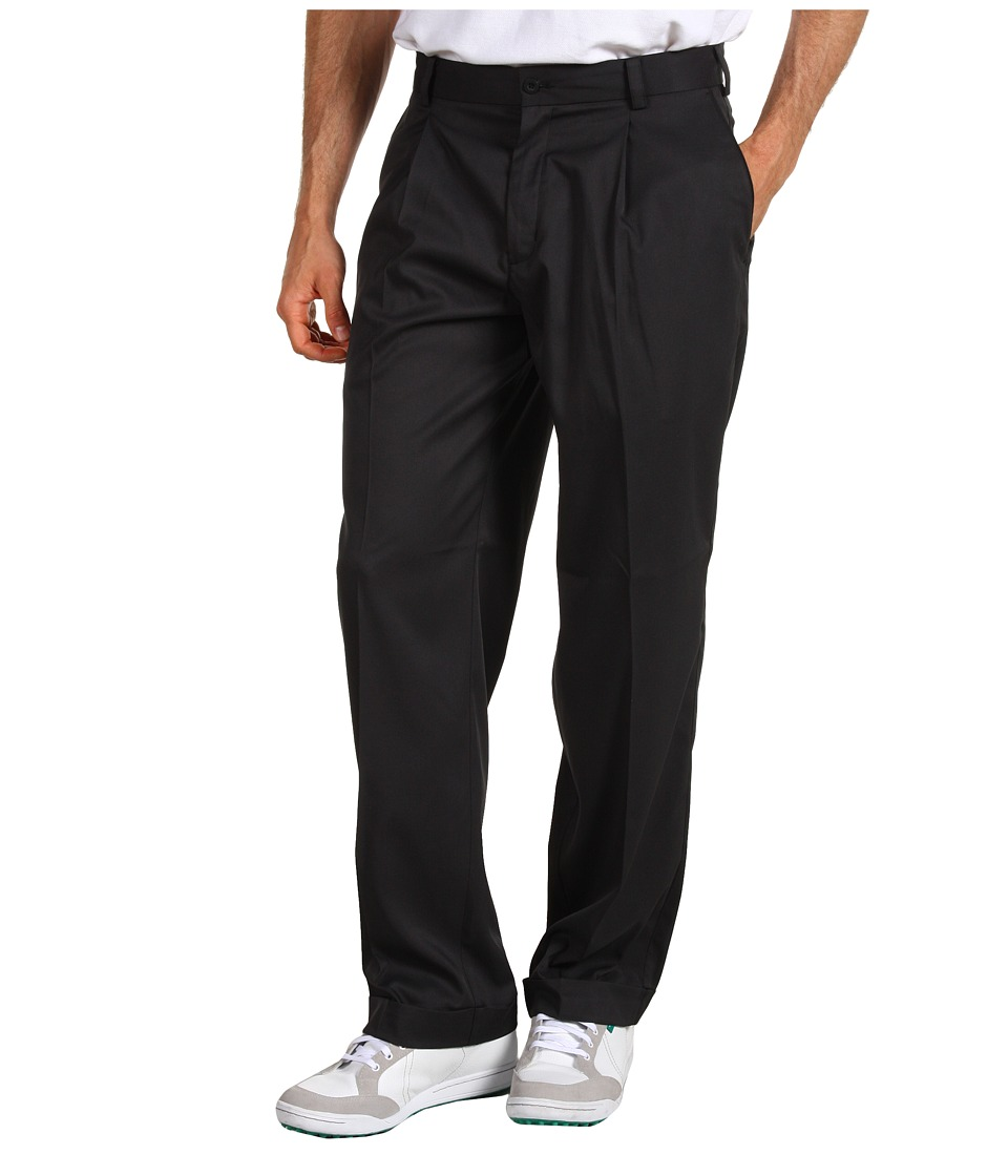Nike Golf - Tour Pleated Pant (Black/Black) Men's Casual Pants
