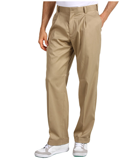 Nike Golf - Tour Pleated Pant (Khaki/Khaki) Men