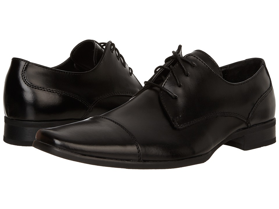 Calvin Klein - Bram (Black) Men's Slip-on Dress Shoes