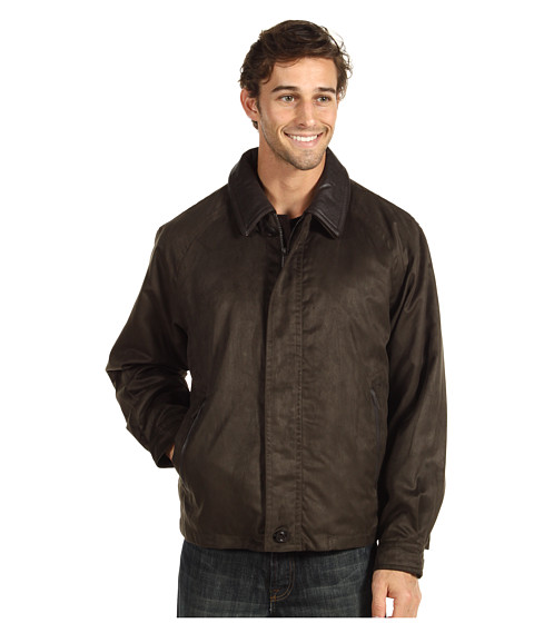 Rainforest - Micro Suede Twill Bomber with Removable Zip Out Liner (Fir) Men