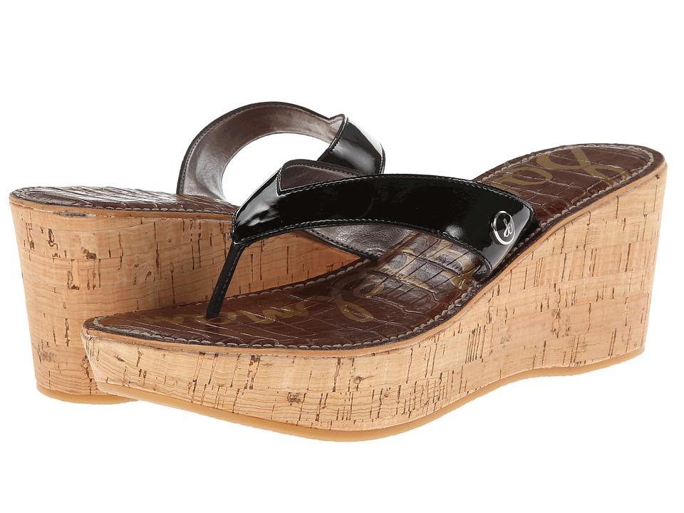 Sam Edelman - Romy (Black Patent) Women's Wedge Shoes