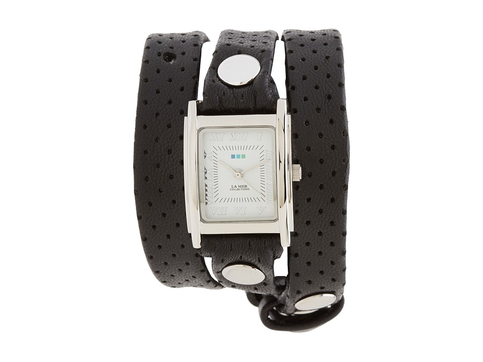 La Mer - Layered and Studded (Black/Silver) Watches
