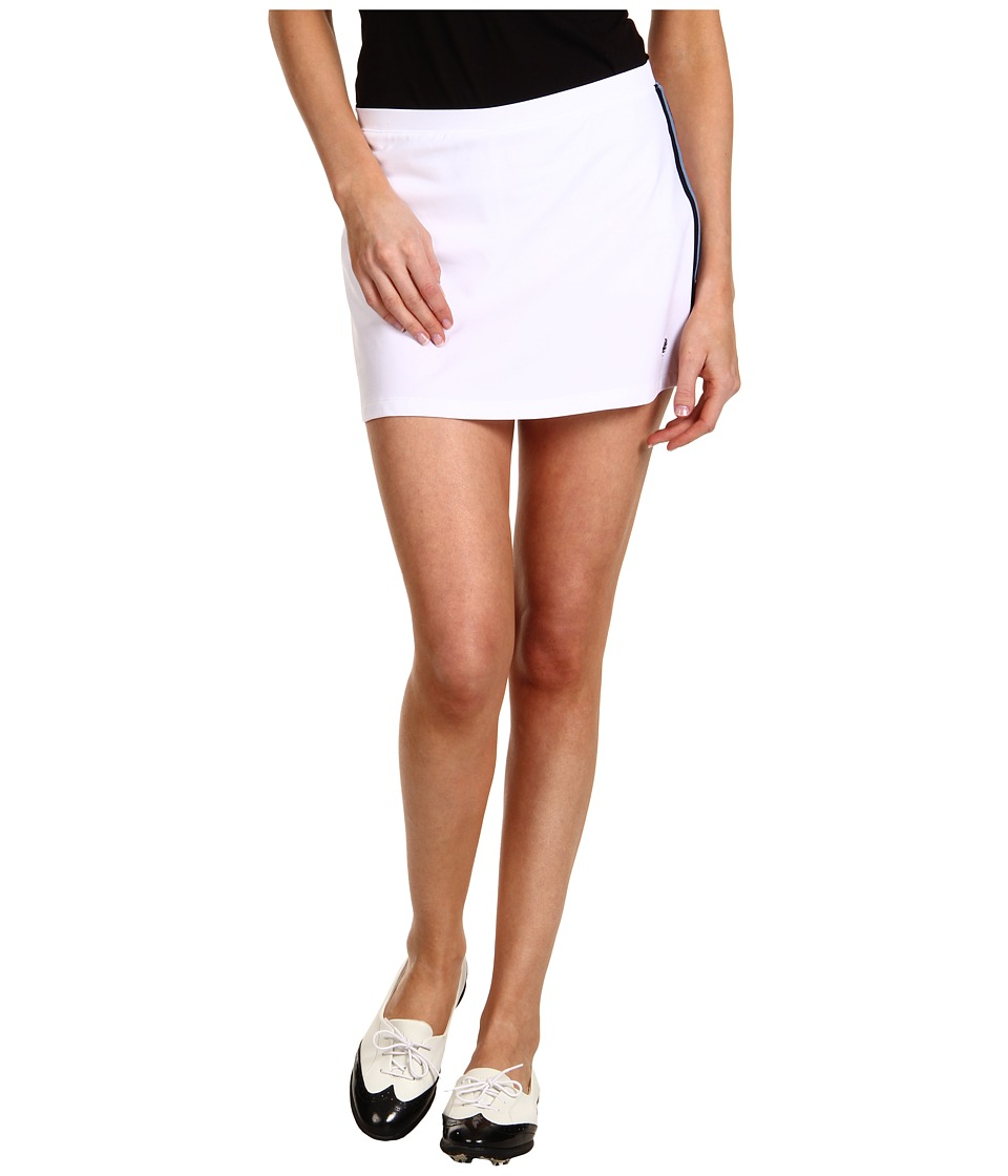 Fred Perry - A-Line Ball Skort (White) Women's Skort