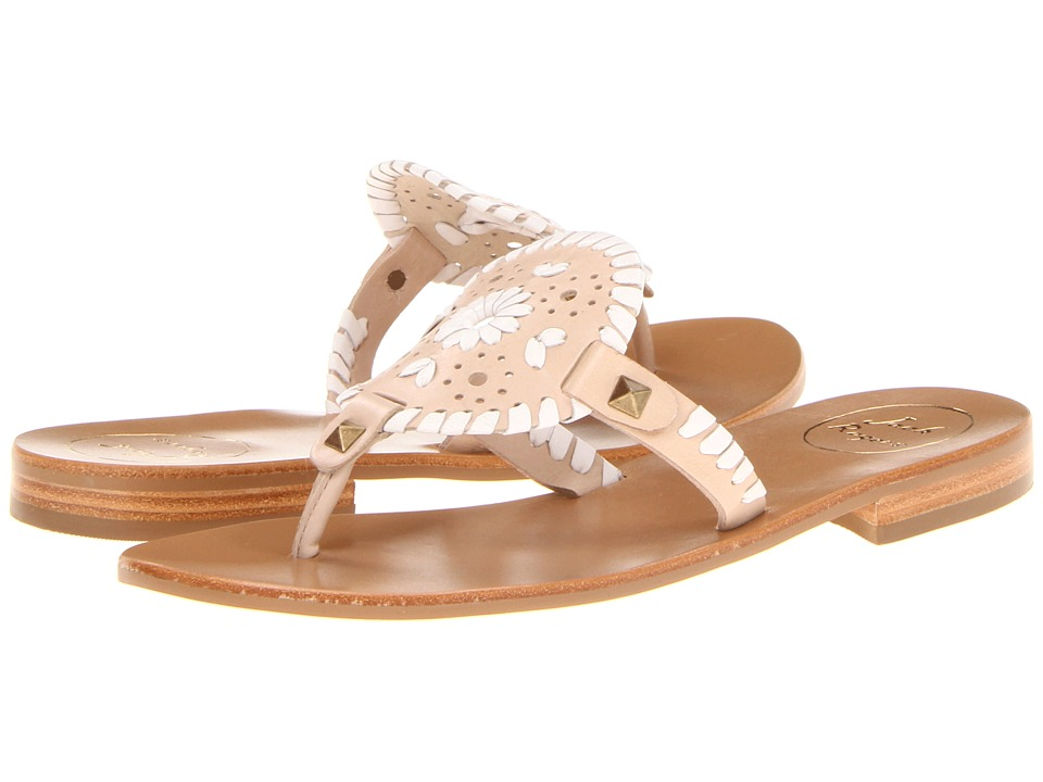 Jack Rogers - Georgica (Bone/White) Women's Sandals