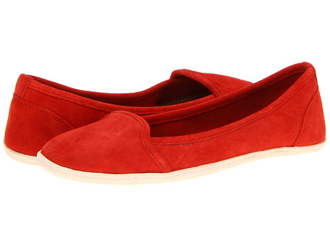 DV by Dolce Vita - Soloman (Hot Orange) Women's Flat Shoes