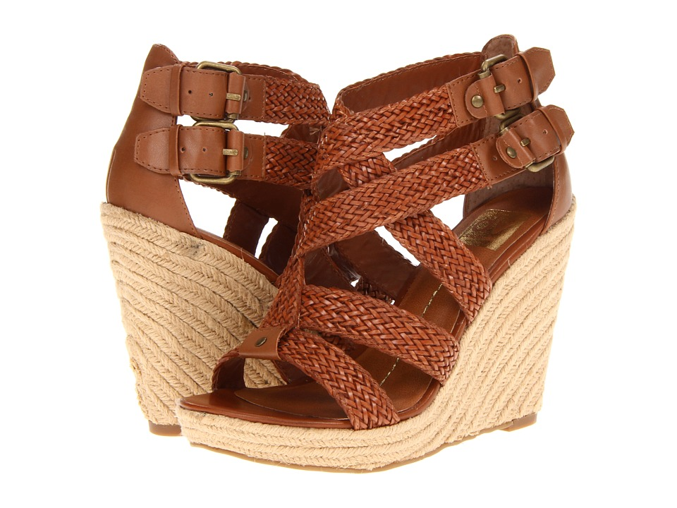 DV by Dolce Vita - Talor (Cognac) Women's Wedge Shoes