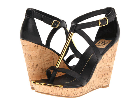 DV by Dolce Vita - Tremor (Black) Women's Wedge Shoes