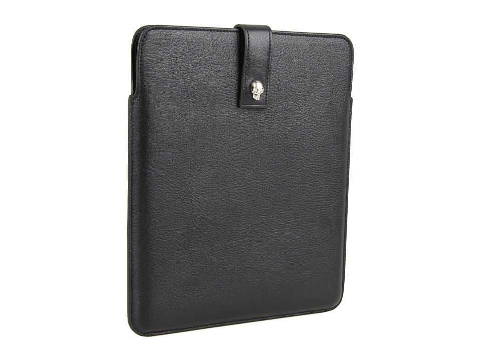 Alexander McQueen - Tablet Holder (Black) Computer Bags