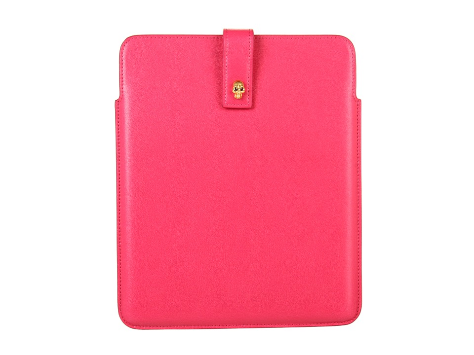 Alexander McQueen - Tablet Holder (Pop Pink) Computer Bags