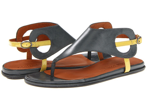 Gentle Souls - Opal (Charcoal) Women's Sandals