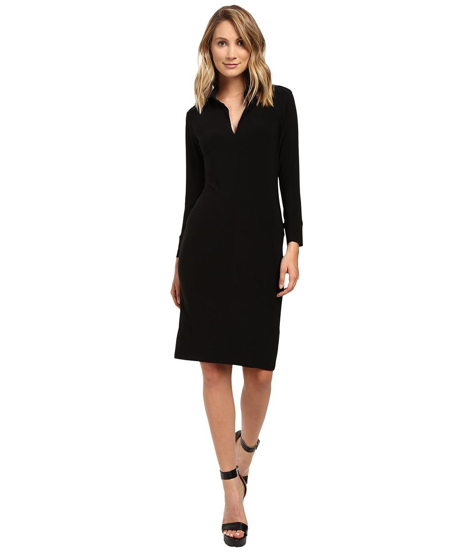 KAMALIKULTURE by Norma Kamali - Shirt Dress (Black) Women's Dress