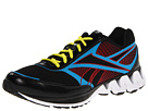 Reebok - ZigKick Ride (Black/Excellent Red/Far Out Blue/Solar Green/White)