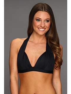 SALE! $39.99 - Save $32 on DKNY Bardot Halter Bra Top (Black) Apparel - 44.46% OFF $72.00