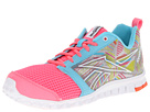 Reebok - RealFlex Scream 2.0 (Pink Zing/Watery Blue/Tin Grey/Shocking Sherbet/Solar Green/Whit)