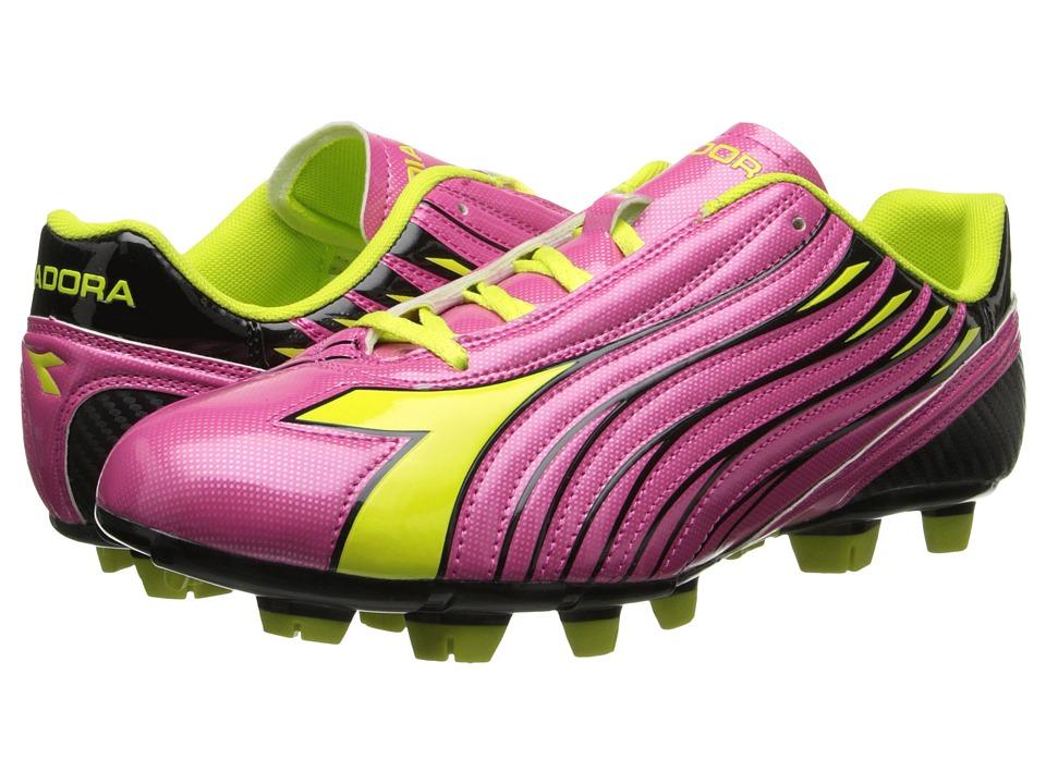 Diadora - Solano W (Magenta/Yellow/Black) Women's Soccer Shoes