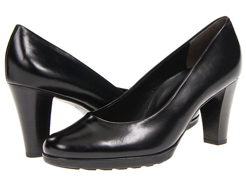 Paul Green - Proposal (Black Leather) Women's Slip on Shoes