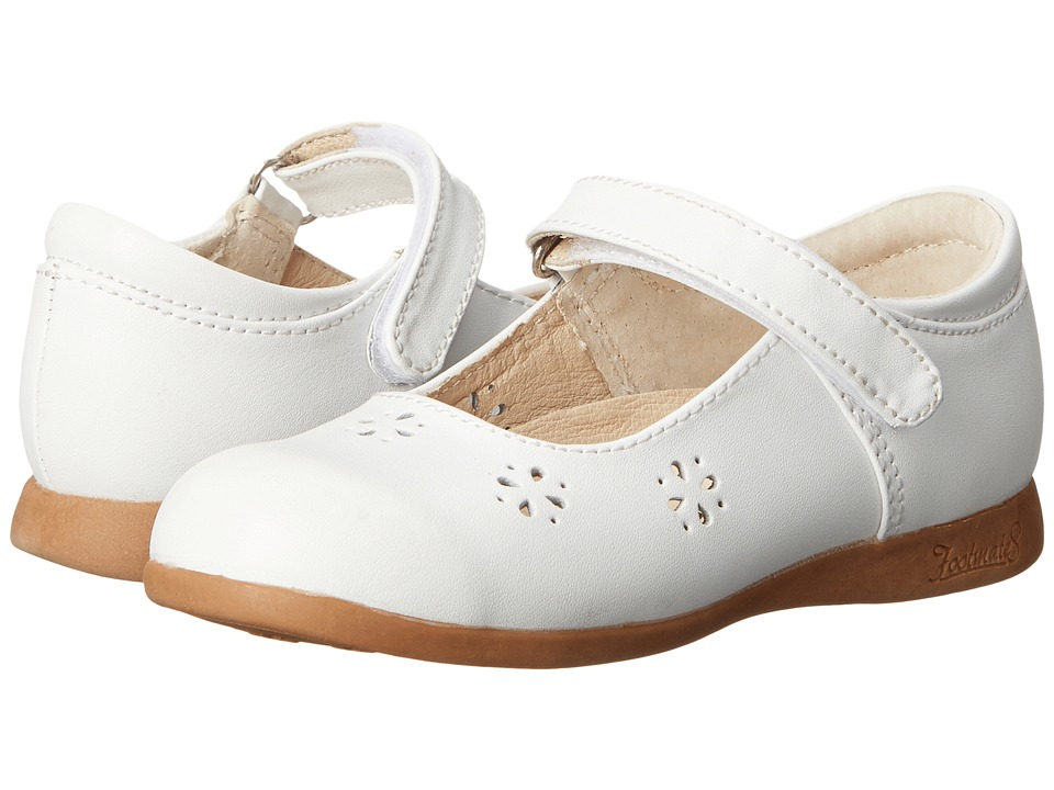 FootMates - Posy (Toddler/Little Kid) (White) Girls Shoes