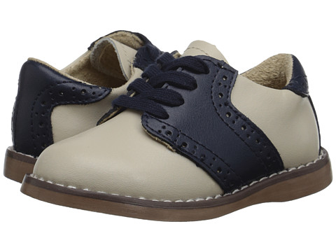 FootMates - Connor 2 (Toddler/Little Kid) (Ecru/Royal) Boys Shoes