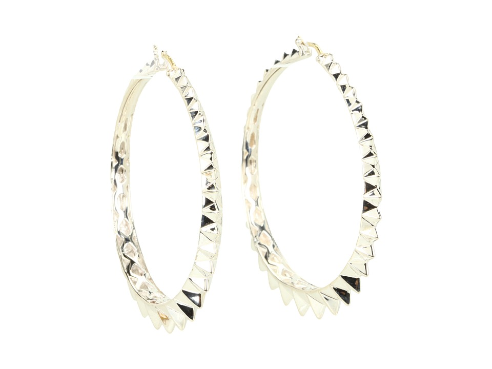 Stephen Webster - Superstud Hoop Earrings (Silver) Earring